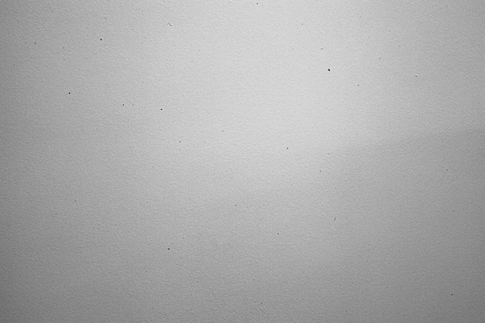 24-70mm canon lens showing sensor dust
